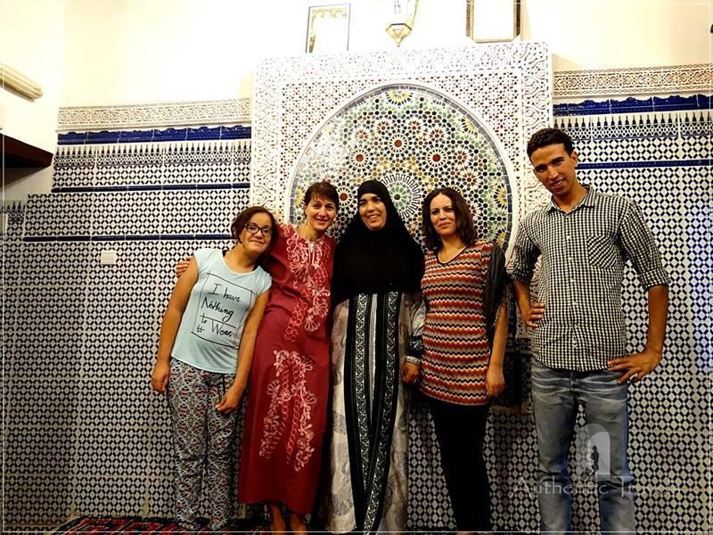 Fes old medina: with Milouda's family at Casa Aya Medina