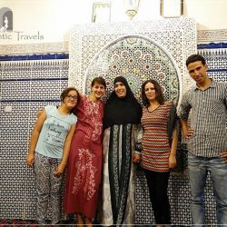Casa Aya Medina: with Milouda, Mohammed, and other family members