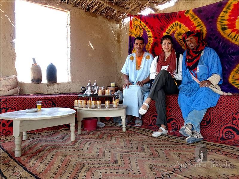 Majha Fezna: with Karim and Hamid, who showed me the khattara underground irrigation system
