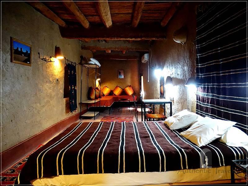 Ksar El Khorbat: refurbished in a mud-brick house inside the ksar