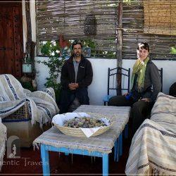 Dar Kamal Chaoui: with Kamal Chaoui on the rooftop terrace of the house