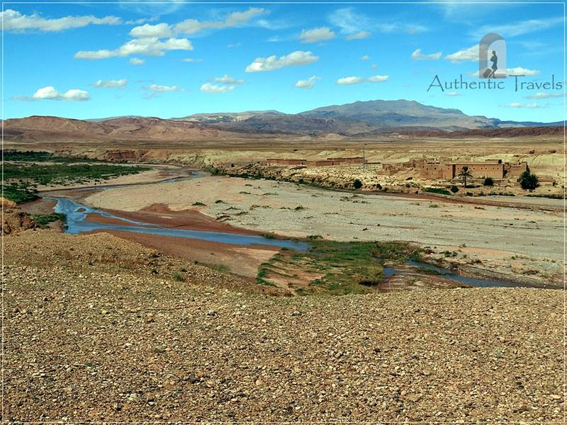 The road to Ait Benhaddou