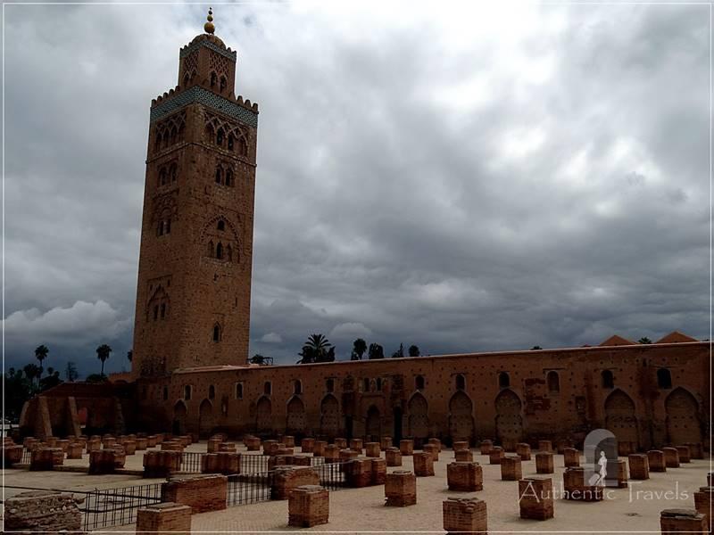 Marrakesh - the Koutoubia Mosque