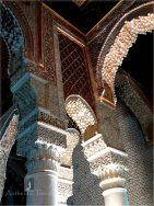 The kasbah of Marrakesh - the Saadian Tombs