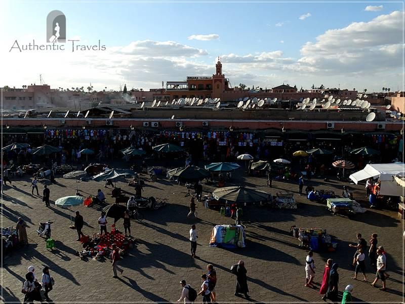 Marrakesh - Djemaa el-Fna Square