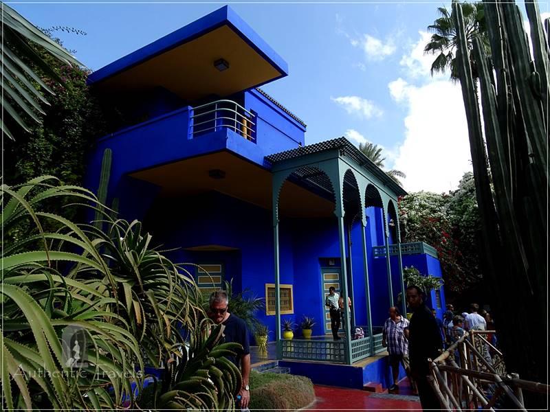 Ville Nouvelle in Marrakesh - Jardin Majorelle