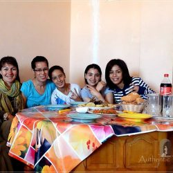Marrakesh - lunch with Naima's family