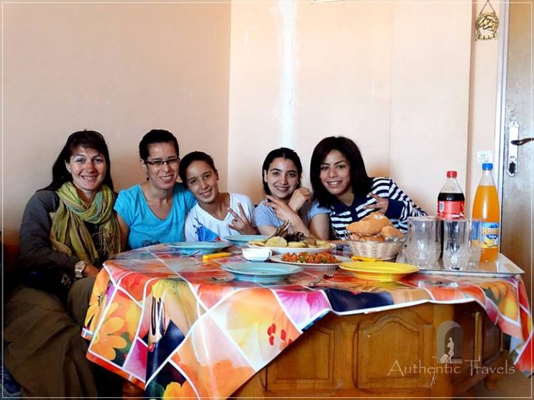Marrakesh: lunch with Naima's family