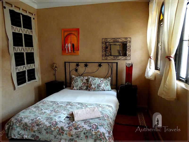 Essaouira - my room at Riad Salmiya Dune