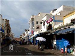 The medina in Essaouira - the main pedestrian street