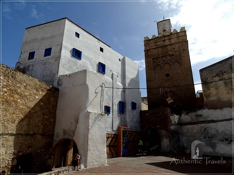 The old medina in Safi - the Portugese Cathedral