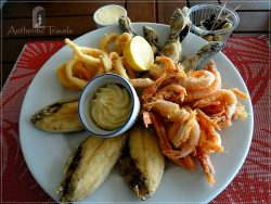 Oualidia Lagoon: pricey lunch with fish delicacies
