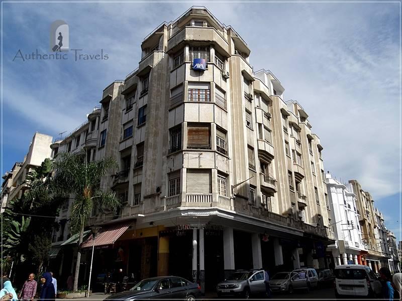 Casablanca: Haussmanian architecture in Ville Nouvelle