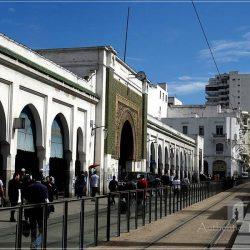 Casablanca: Marche Central in Ville Nouvelle