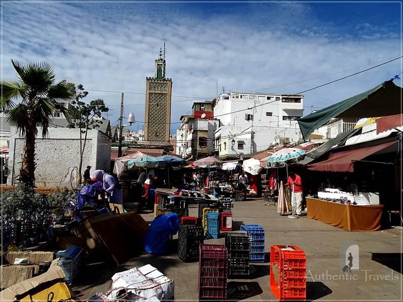 Casablanca: a street in the Old Medina