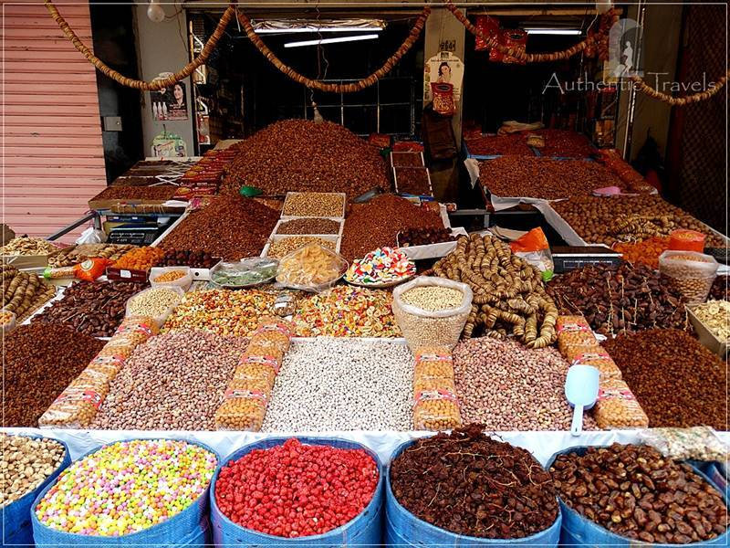 Rabat: spices in the Old Medina