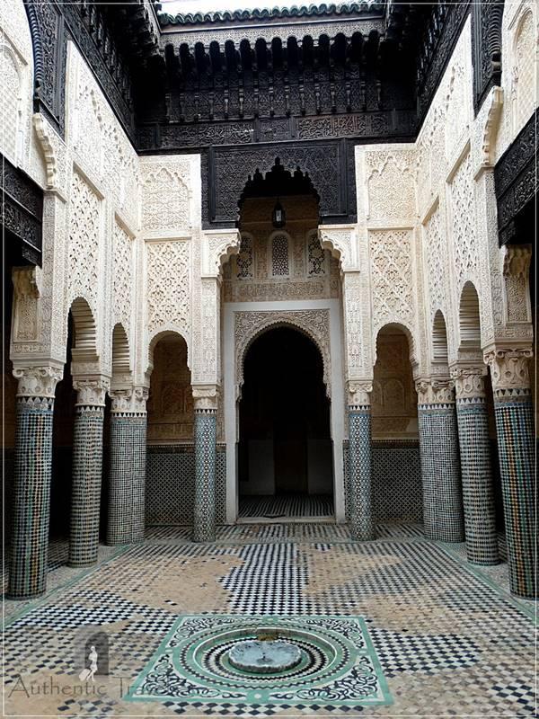Sale: the Merinids' medersa in the old medina