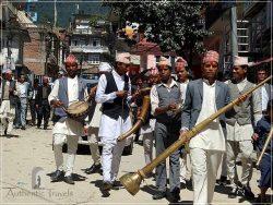 Budhanilkantha (around Kathmandu) - a local wedding