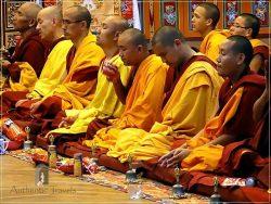 Kopan Monastery: a puja ceremony