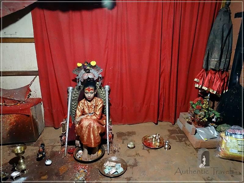 Patan: Haka Bahal - the Living Goddess (Patan's Kumari)