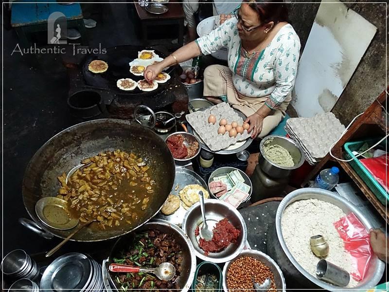 Patan: Durbar Square - a local eatery
