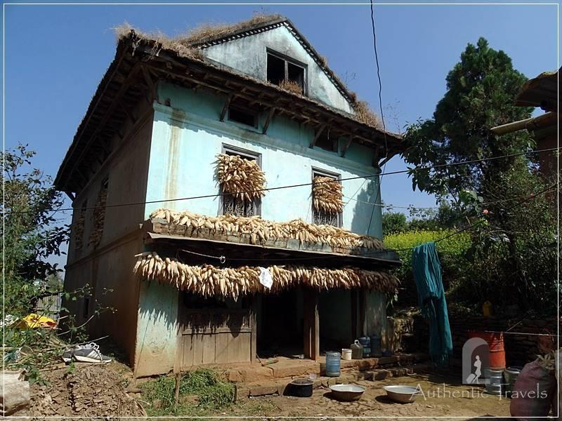 Kathmandu Valley: Chobar - traditional house