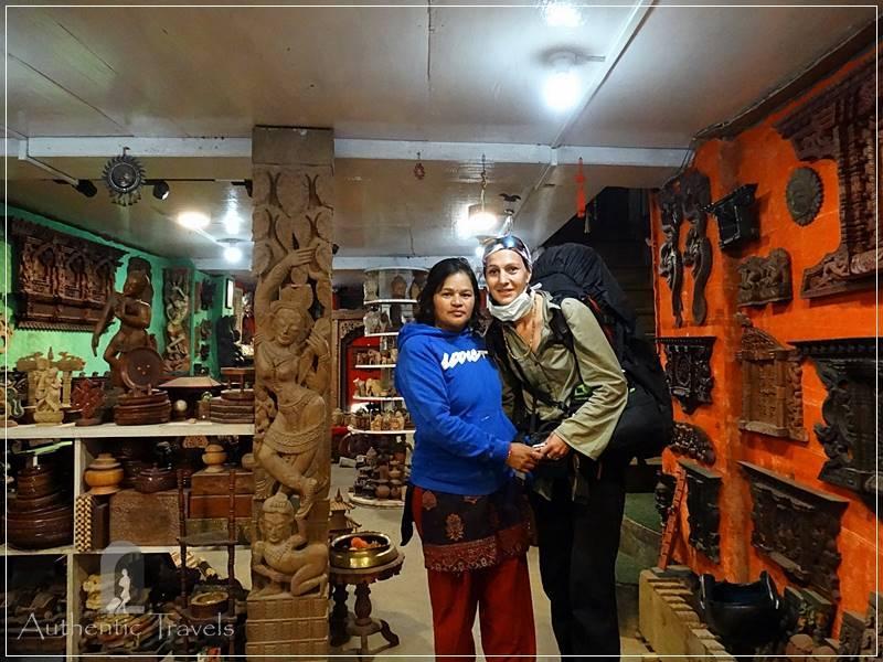 Kathmandu Valley: Bhaktapur - with Manika at Nyatapola Guesthouse