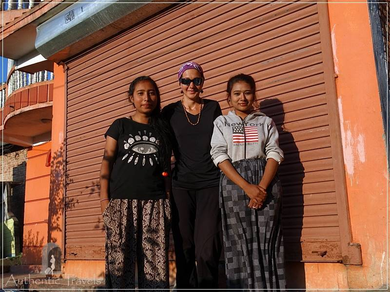 Kathmandu Valley: Bashgari - with Leeza and Epanzelina (my hosts)