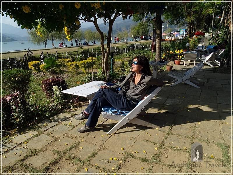 Pokhara Lakeside (before leaving to Bandipur): Phewa Paradise Restaurant