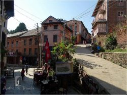 Bandipur Old Town, on the road between Pokhara and Kathmandu