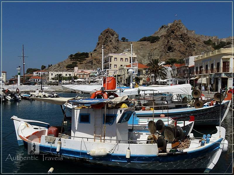 Lemnos Island: Myrina port - all kind of boats and yachts