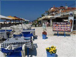 Thassos Island - Limenaria: tavernas everywhere