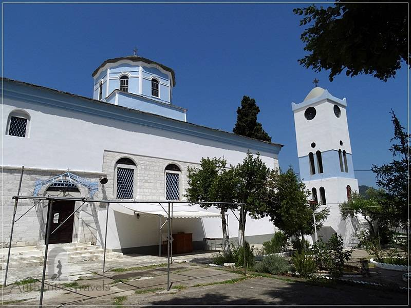 Thassos Island - Panagia Village: the main church