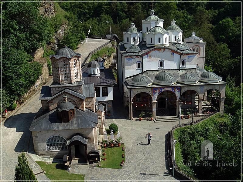 On the way to Skopje - Osogovo Monastery, near Kriva Palanka