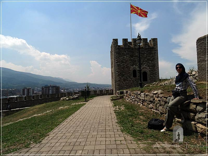 Skopje Fortress, near the Turkish bazaar