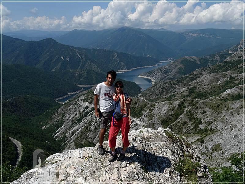 Skopje's surroundings: Kozjak Lake in a very wild area