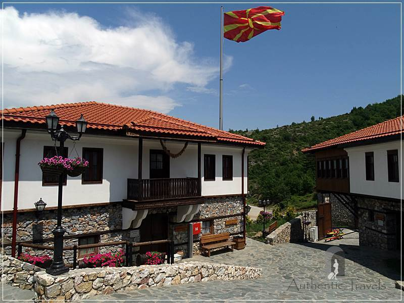 On the way to Mavrovo - Macedonian Etno Village in Gorno Nerezi