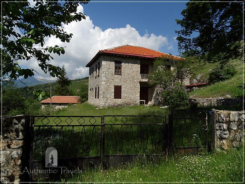 Galicnik village, up in the Bistra Mountains, near Mavrovo