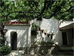 Traditional house in Gjirokaster