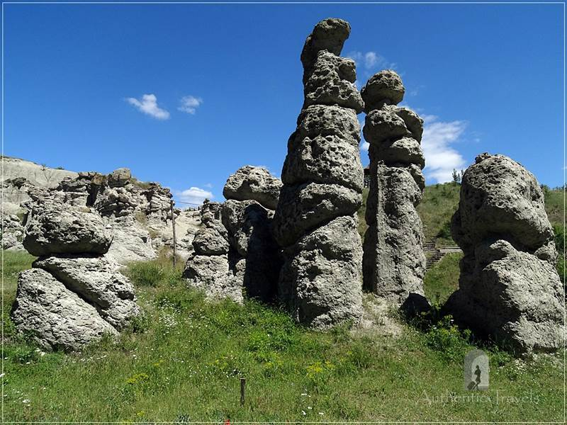 Kuklica Valley - the Stone Dolls formations