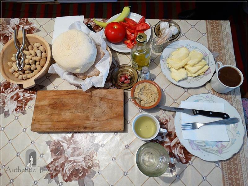 Kratovo - local food at Etno House Shancheva: simple, traditional, and hearty