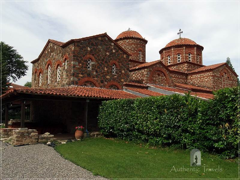 The church of Vodocha monastery, near Strumica