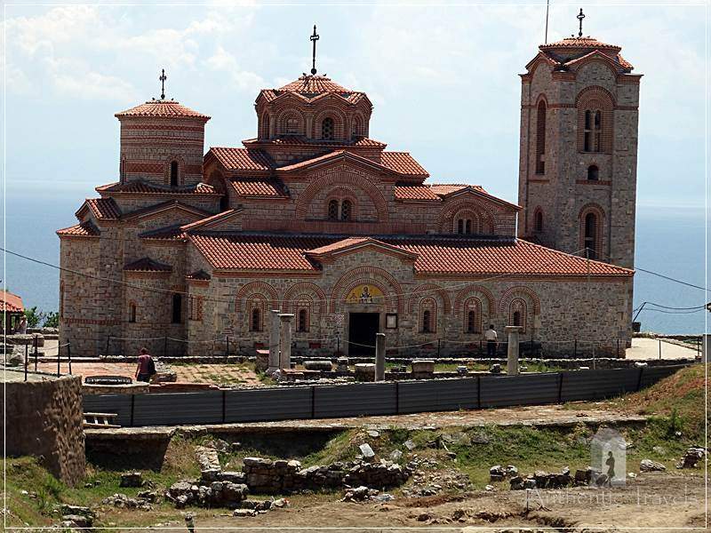 Ohrid - Plaosnik Church