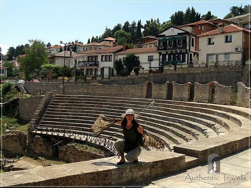 Ohrid - the old Roman theater
