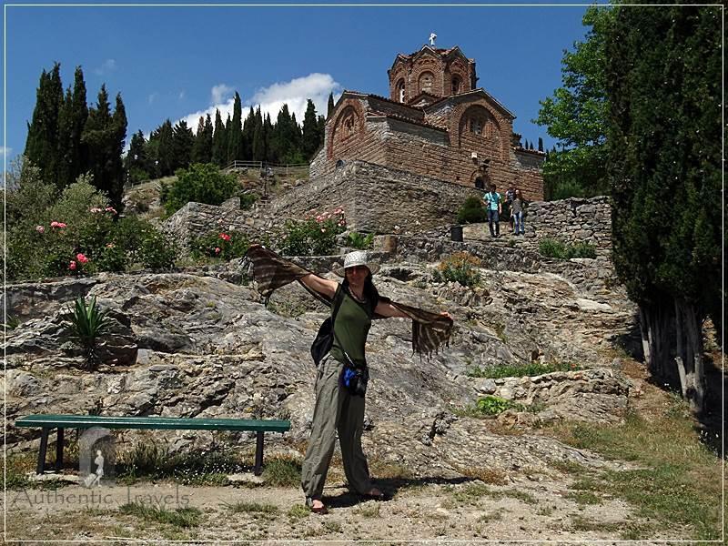 Ohrid - Saint Jovani in Kaneo church