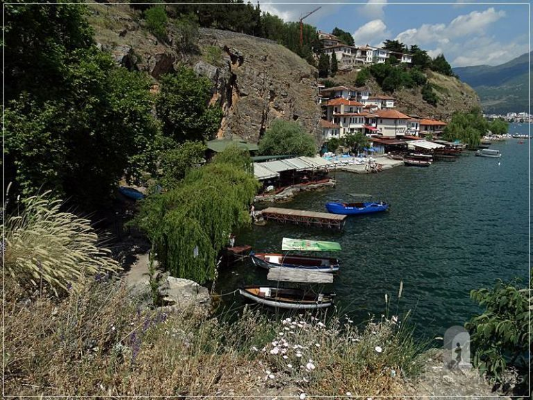 Ohrid - Kaneo small bay