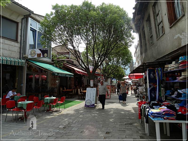 The Turkish part of the old bazaar in Ohrid