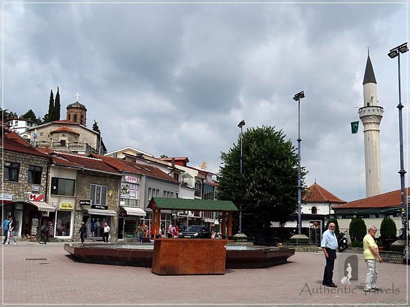 The Turkish bazaar of Ohrid