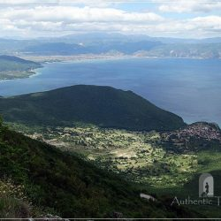 Ohrid Lake - view from the Galicica Mountains