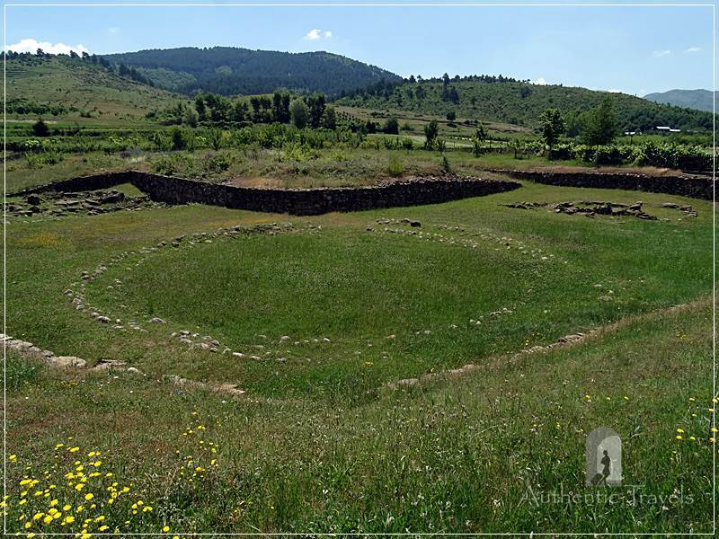 Kamenicë - the ancient tumulus (210 graves discovered)